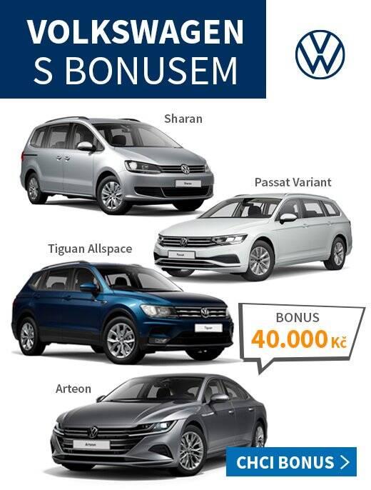 Karta BO - akce bonus VW