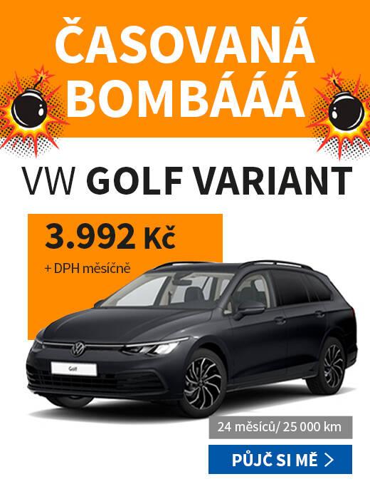 KARTA - BO - Top nabídka - Golf Variant